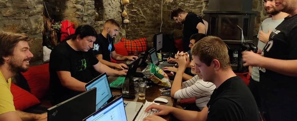 Hard working during HCGJ 2018